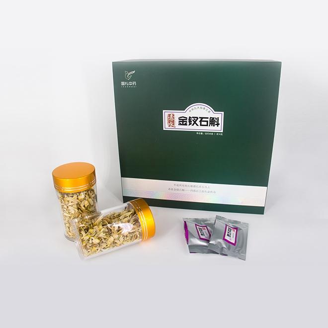 一級金釵石斛綠色混裝禮盒